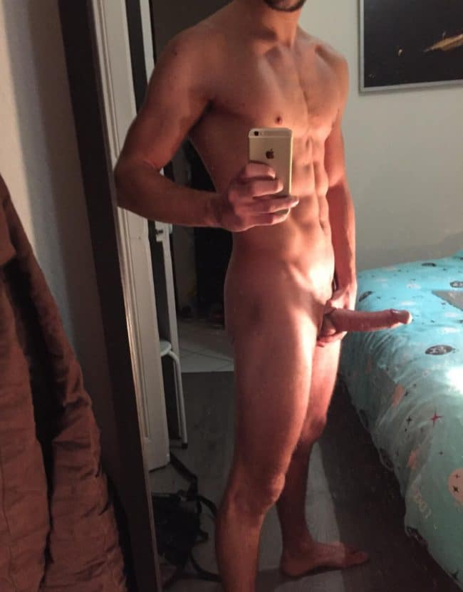 Nude Muscle Man